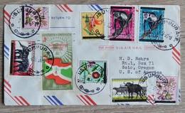 Timbres  Royaume Du Burundil Sur  Lettre Cover  De Usumbura  1963  Tres Bon Etat    Voir Scans - 1962-69: Oblitérés