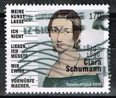 Bund 2019,Michel# 3493 O 200. Geburtstag Von Clara Schumann - [7] Federal Republic