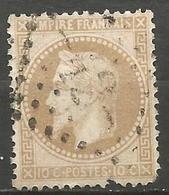 France - Napoleon III Et/ou Cérès Sur N°28B - Oblitération GC 42 AIX-LES-BAINS (Savoie) - 1849-1876: Periodo Classico