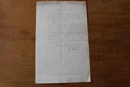 1811 Nomination Salamanque Espagne Autographe Général De Division Baron Thiebault - Documents Historiques
