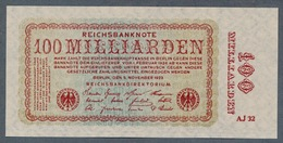 Pick133  Ro130a  DEU-161a - 100 Milliard Mark 1923 ** UNC ** - 100 Milliarden Mark