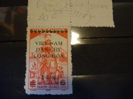 FRANCE INDOCHINE Surchargé  1945-46  Neuf SG - Indochina (1889-1945)