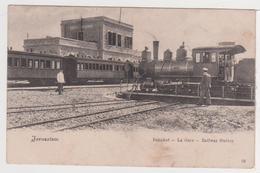 ISRAEL - JERUSALEM - Bahnhof - La Gare - Railway Station - Train , Chemin De Fer - Israel