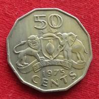 Swaziland 50 Cents 1975 KM# 12 Swasiland Swazilandia Suazilandia - Swaziland