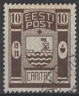 Estonie 1938 Armoiries (G7) - Estland