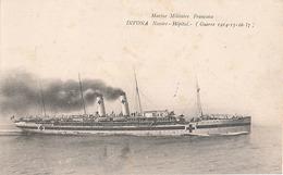 MARINE MILITAIRE FRANCAISE - DIVONA NAVIRE HOPITAL (GUERRE 1914-15-16-17) - Warships