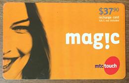 LIBAN MAGIC MTCTOUCH RECHARGE GSM 37,90 $  EXP 08/08/2007 PHONECARD PAS TELECARTE CARTE TÉLÉPHONIQUE PRÉPAYÉE - Libano