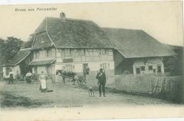 Mortzwiller (Morzwiller, Morzweiler); Gastwirtschaft Nicolaus Lehman - Nicht Gelaufen. (Verlag Ph. Born) - Masevaux