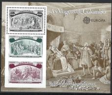 Portugal 1992. Mi Block 88, Postfrisch **, MNH - Blocks & Kleinbögen