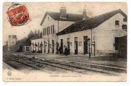 CPA 52 - GARE DE LANGRES - VILLE - Langres