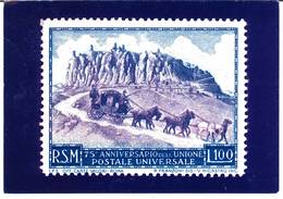 San Marino - 75° Anniversario Dell'Unione Postale Universale - Cartolina 1987 - Lettres & Documents