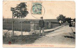 CPA 54 - BRIN SUR SEILLE - LA FRONTIERE FRANCAISE - Autres Communes