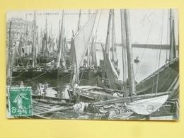 V10-76-seine Maritime--le Treport--les Barques Au Repos--1911 - Le Treport