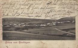 Luxembourg - Gruss Aus Gostingen  -  Verlag Von Photogr. , Johanns , Wasserbillig - No.8 - 2 Scans - Cartes Postales