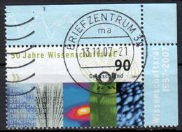 BRD - 2007 - MiNr. 2622 - Eckrandmarke - Gestempelt - [7] Federal Republic