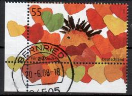 BRD - 2007 - MiNr. 2619 - Eckrandmarke - Gestempelt - [7] Federal Republic