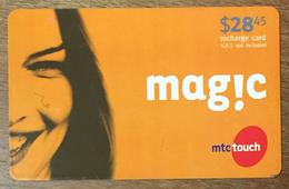 LIBAN MAGIC MTCTOUCH RECHARGE GSM 28,45 $ EXP 01/06/2007 PHONECARD PAS TELECARTE CARTE TÉLÉPHONIQUE PRÉPAYÉE - Liban