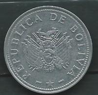 Bolivia 1 Boliviano 2008 / Bolivie    -  Pieb 23904 - Bolivia