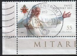 BRD - 2007 - MiNr. 2599 - Eckrandmarke - Gestempelt - [7] Federal Republic