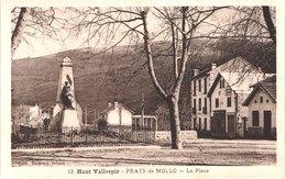 FR66 PRATS DE MOLLO - Badouix 12 - La Place - Monument Aux Morts La Gare - Plaque BYRRH - Belle - Sonstige Gemeinden