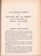 PAGES D'HISTOIRE DE L'ARMEE BELGE AU COURS DE LA GUERRE 1914 - 1918 - Raid 1er Carabiniers Devant Nieuport Etc ! Rare ! - Guerre 1914-18