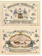 Notgeld Grheebel 25, 50 Pf 1921 - [11] Emisiones Locales