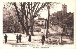 FR66 PRATS DE MOLLO - Badouix 20 - Promenade Jeux De Tennis Route Du Fort Lagarde - Animée - Belle - France