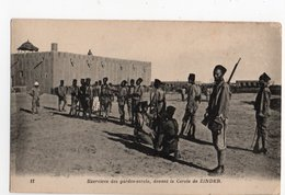 NIGER * AFRIQUE * ZINDER * EXERCICE DES GARDES-CERCLE * CERCLE * Carte N° 11 - Niger