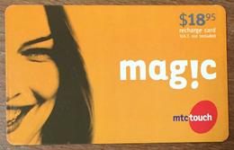 LIBAN MAGIC MTCTOUCH RECHARGE GSM 18,95 $ EXP 01/06/2007 PHONECARD PAS TELECARTE CARTE TÉLÉPHONIQUE PRÉPAYÉE - Liban
