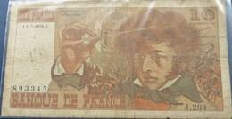 France,  10 FRANCS  1975 ''Berlioz - 1962-1997 ''Francs''