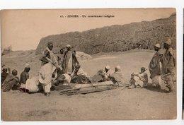 NIGER * AFRIQUE * ZINDER * ENTERREMENT INDIGENE * Carte N° 18 - Niger