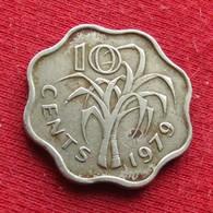 Swaziland 10 Cents 1979 KM# 10 Swasiland Swazilandia Suazilandia - Swaziland