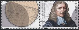 POLAND 2011 Mi 4505 Johannes Hevelius Astronomer Portrait, Solar Eclipse MNH** - Ongebruikt