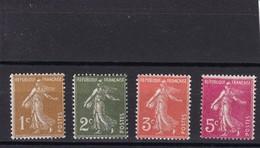 FRANCE 1932-37  NEUF**  N° 277A 278 278A 278B - France