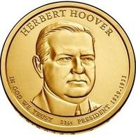 USA, Herber Hoover, 2014, 1 $ - EDICIONES FEDERALES