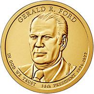 USA, Gerald R. Ford, 2016, 1 $ - EDICIONES FEDERALES
