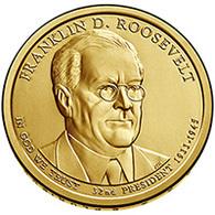 USA,2014 Franklin D. Roosevelt, 2014, 1 $ - EDICIONES FEDERALES