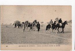 NIGER * AFRIQUE * ZINDER * SECTION ARTILLERIE Montée En Marche * Carte N° 44 - Niger