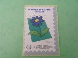 TC26 / ANTITUBERCULEUX / TUBERCULOSE Grande Vignette Sans Valeur Frs ; 1991/92  Neuf ** - Erinnofilia
