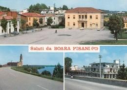 BOARA PISANI-PADOVA-SALUTI DA-(3 IMMAGINI)-CARTOLINA VERA FOTOGRAFIA- VIAGGIATA IL 7-8-1970 - Padova (Padua)