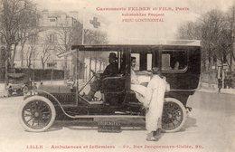Lille - Ambulances Et Infirmiers. - Lille