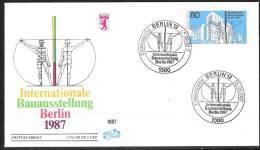 Berlin FDC 1987 Nr.785 Intern.Bauausstellung( D 92 ) Günstige Versandkosten - Berlin (West)