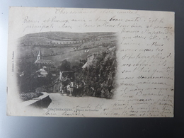 Cantal, Chaudes-Aigues, Départ Du Courrier. - Altri Comuni