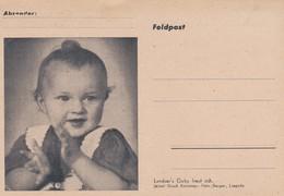 Carte Correspondance Militaire Enfant Feldpost - Militaria