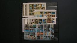 AJMAN-20 MINIPLIEGOS EN USADO/º/-FAUNA;ESPACIO:DEPORTE - Collections (sans Albums)