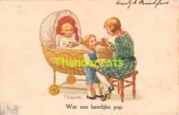 CPA ILLUSTRATEUR ENFANT ARTIST SIGNED CARD CHILD SCHENKEL B DONDORF ( PLI D'ANGLE - CORNER CREASE ) - Schenkel, Franziska