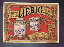 Publicité Liebig - Fond Rouge - Advertising