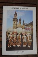 Aalst  Carnaval Gilles Brochure 1971 1991 - Fasching & Karneval