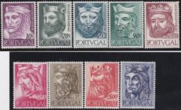 Portugal    .    Yvert     .   817/825        .    **      .     Neuf SANS Charnière   .   /   .   MNH - 1910-... Republic
