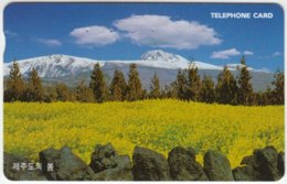 SOUTH KOREA A-202 Magnetic Telecom - Landscape, Mountains - Used - Korea, South